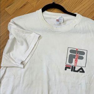 Vintage FILA Basketball Tee